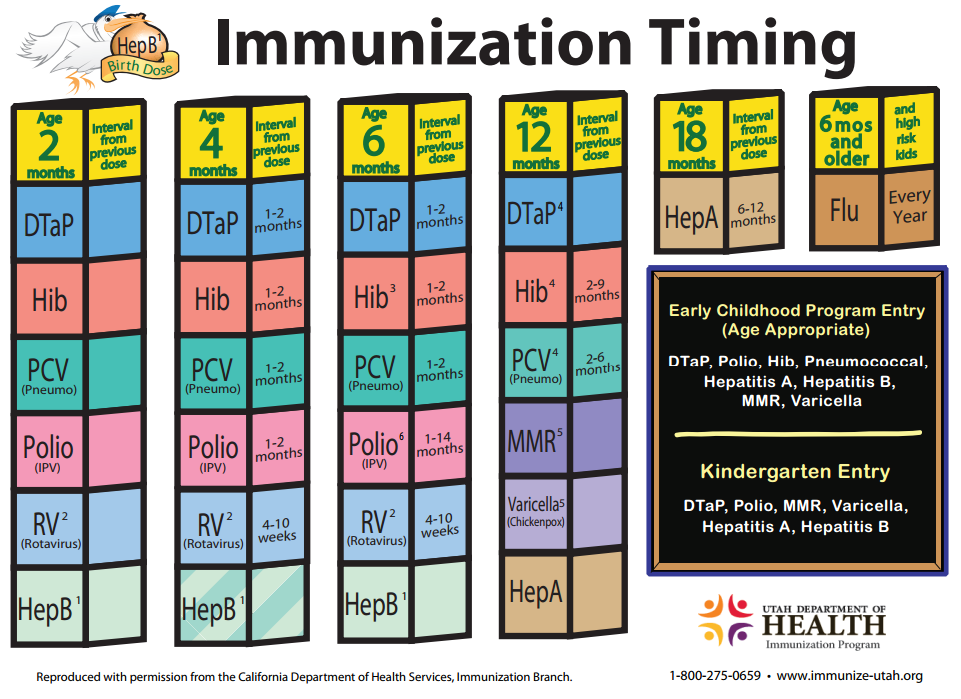 childrens immunizations The indiana state department of health immunization program strives to prevent disease, disability, and death in children, adolescents, and adults through vaccination.