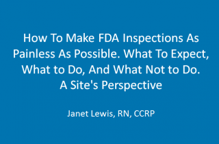How To Make FDA Inspections