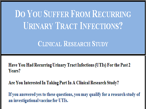 urinary research questions Latest news and research breakthroughs on urinary tract infection last updated on jan 14, 2018 with over 74 news and research items available on the subject freely download - 'urinary tract infection news widget.