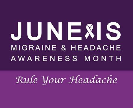 J Lewis Research Inc Migraine Awareness Month June 2016